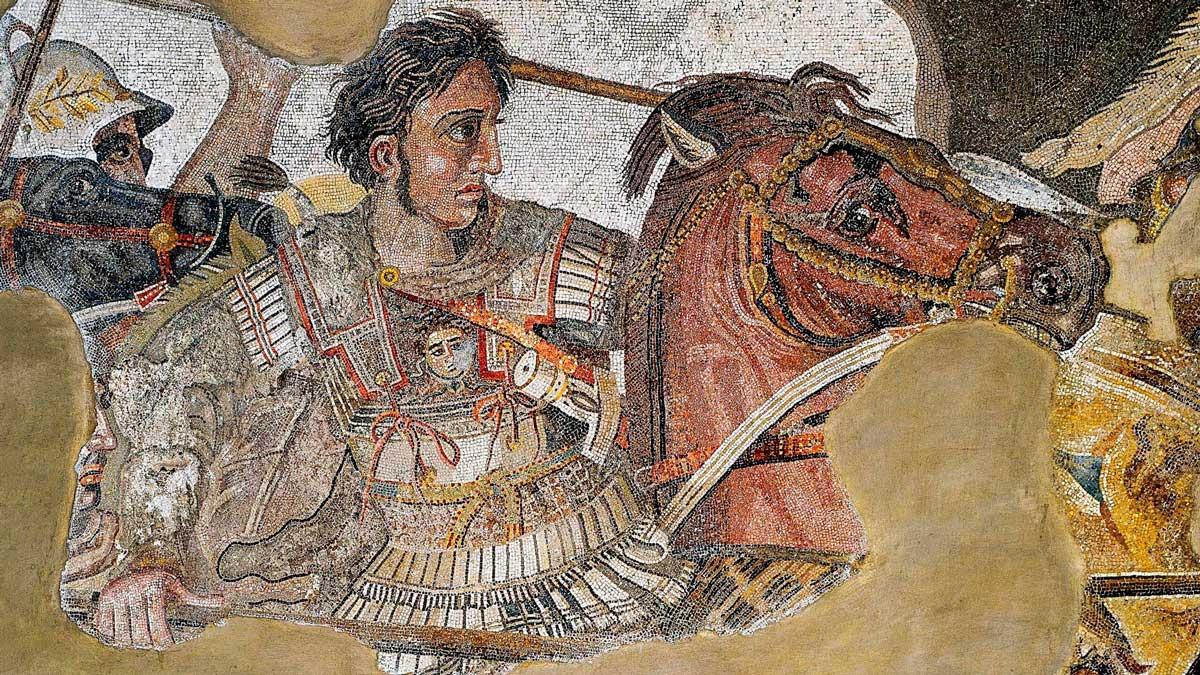 Alejandro Magno fue uno de los grandes conquistadores de la historia