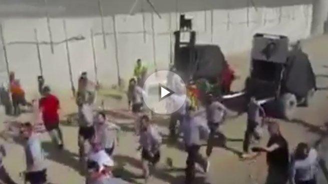 Sanfermines en Irak: las tropas españolas celebran su particular encierro «con lo que tienen»