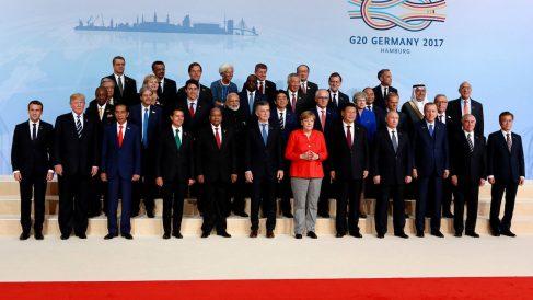 Cumbre del G20 en 2017 en Alemania.