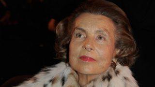 Liliane Bettencourt, accionista mayoritaria de L'Orèal. (Foto: Getty)