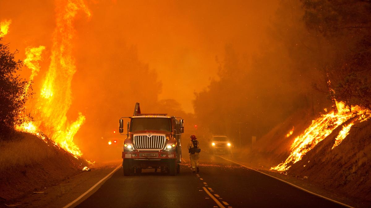 Incendio en California. (Foto: AFP)