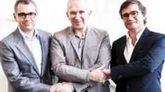 Marc Puig, Jean Paul Gaultier y Manuel Puig. (Foto. Grupo Puig)