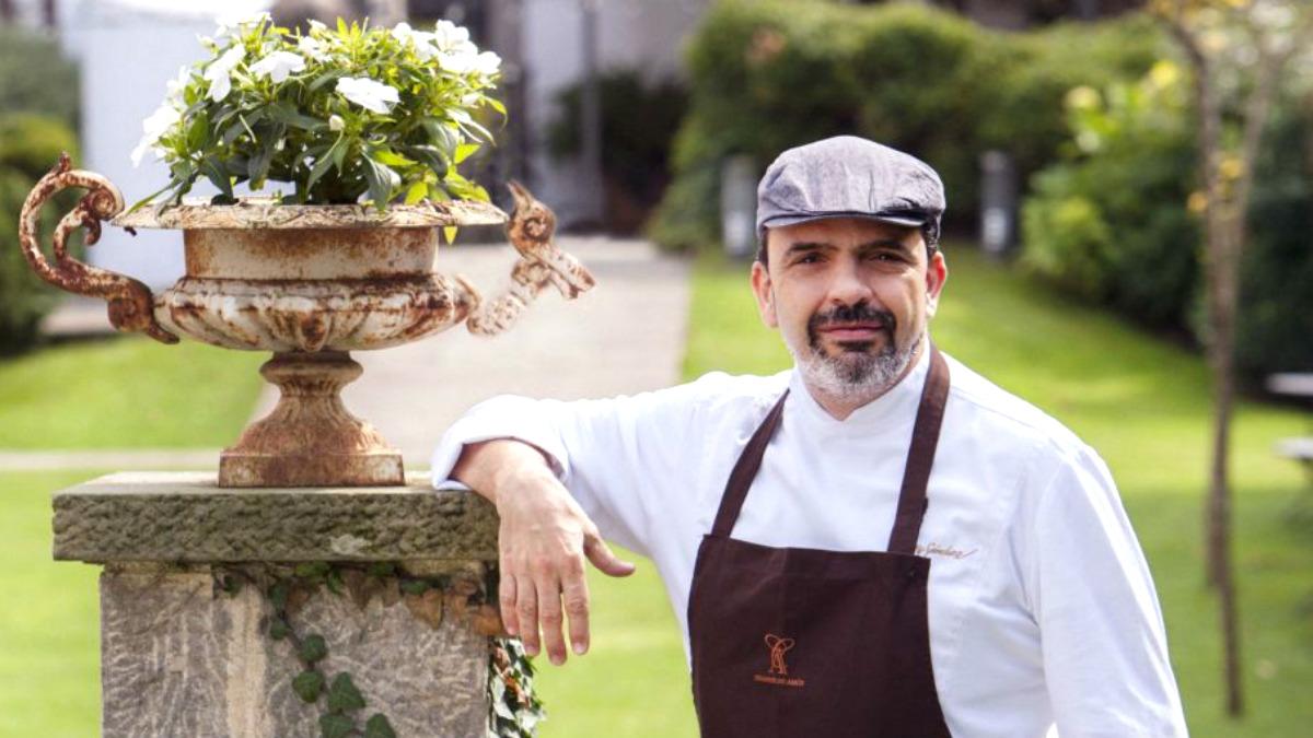 Jesús Sánchez, chef de Cenador de Amós