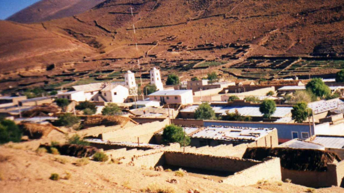 Centro de Bolivia.