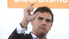 El líder de Ciudadanos, Albert Rivera. (Foto: EFE)