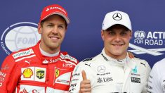 Sebastian Vettel se ha mostrado convencido de que Valtteri Bottas se saltó la salida del Gran Premio de Austria de Fórmula 1. (Getty)