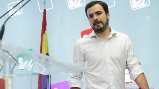 El coordinador de Izquierda Unida, Alberto Garzón. (Foto: EFE)
