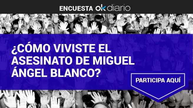¿Cómo viviste el asesinato de Miguel Ángel Blanco?