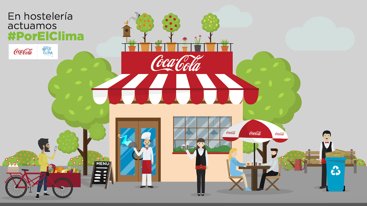 Coca-Cola y la Comunidad #PorElClima han presentado este martes la plataforma Hostelería #PorElClima.