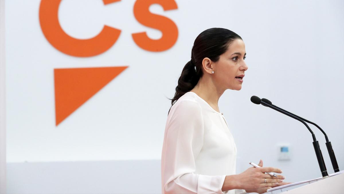 Inés Arrimadas en una reciente imagen. (Foto: EFE)