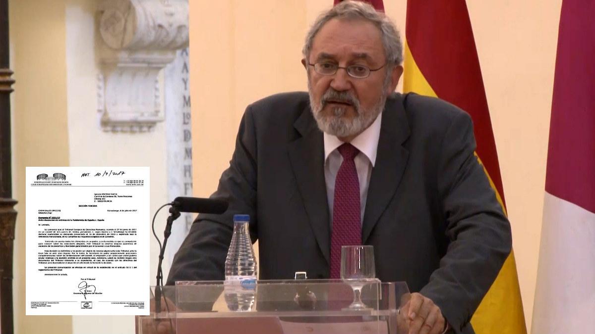 El magistrado del Tribunal Europeo de Derechos Humanos Luis López Guerra.
