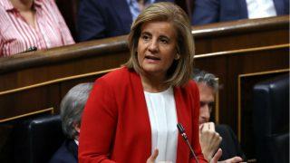 La ministra de Empleo y Seguridad Social, Fátima Báñez (Foto: EFE)