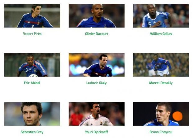Francia Star Sixes.