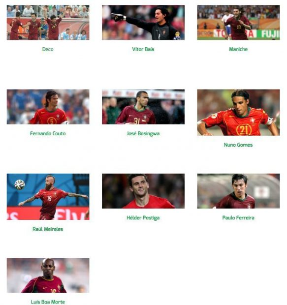 Portugal Star Sixes.