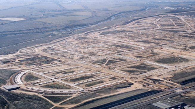 Desarrollo residencial de Arpegio.