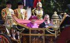 La Reina Isabel II y Felipe VI