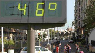 Andalucía registra altísimas temperaturas en la ola de calor que azota España