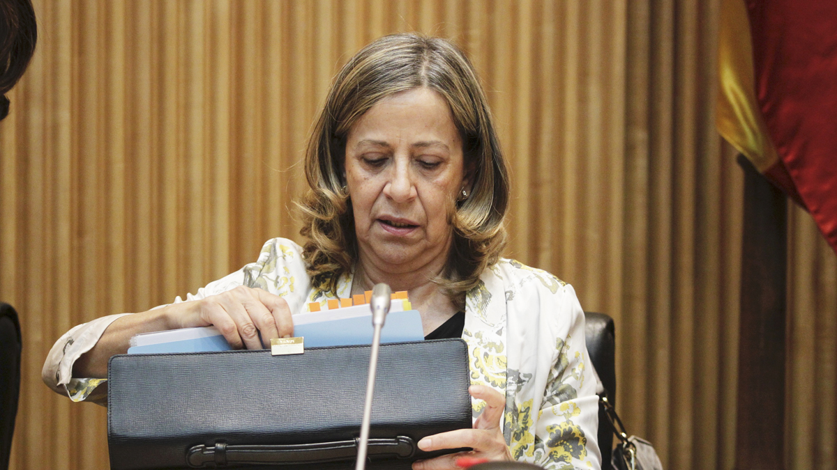 La tesorera del PP, Carmen Navarro (Foto: Francisco Toledo)