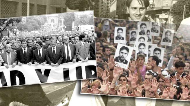 España se echa a la calle para despedir a Miguel Ángel Blanco