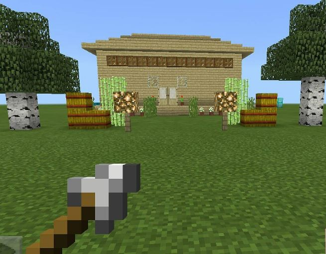 C mo hacer casas en minecraft paso a paso for Hacer casas