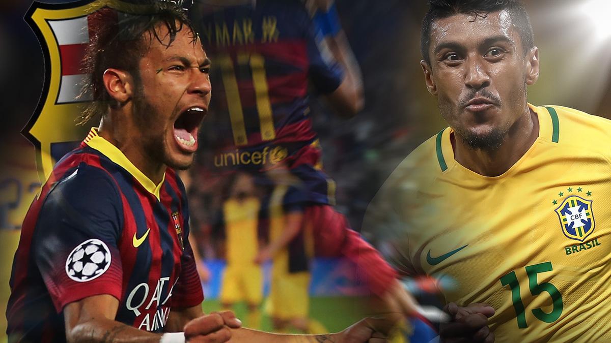 Neymar quiere que el Barcelona incorpore a un brasileño de su máxima confianza.
