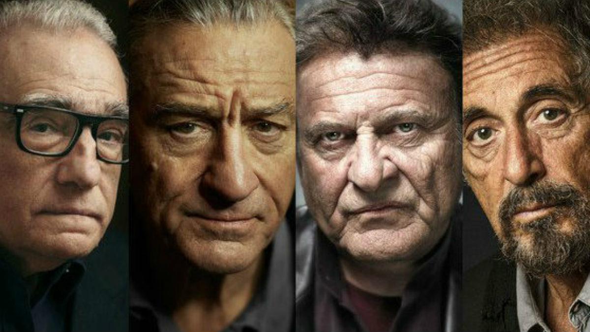 Martin Scorsese, Robert De Niro, Al PAcino y Joe Pesci, director y protagonistas de  'The Irishman'.