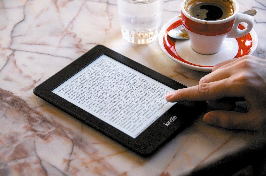 Los libros electrónicos son uno de los productos más vendidos del mercado.