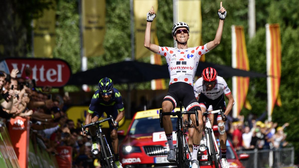 Barguil ganó una etapa marcada por la ambición de Contador y Landa.