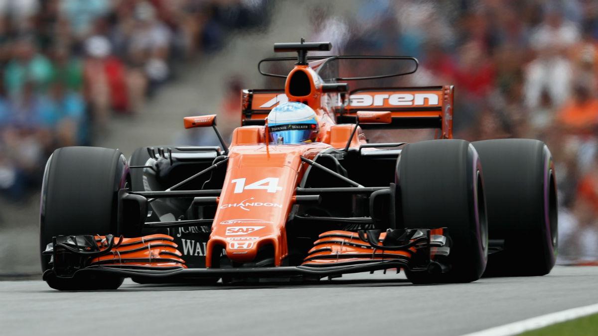 Honda ha asegurado en Silverstone que seguirá motorizando a McLaren en 2018 con toda probabilidad. (Getty)