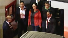 Ollanta Humala y su esposa, Nadine Heredia. (Foto: AFP)