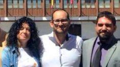 Alcalde de Valdemoro, Serafín Faraldos PSOE (centro).