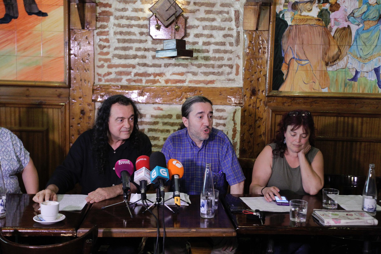 Críticos de Podemos presentan una plataforma en Madrid