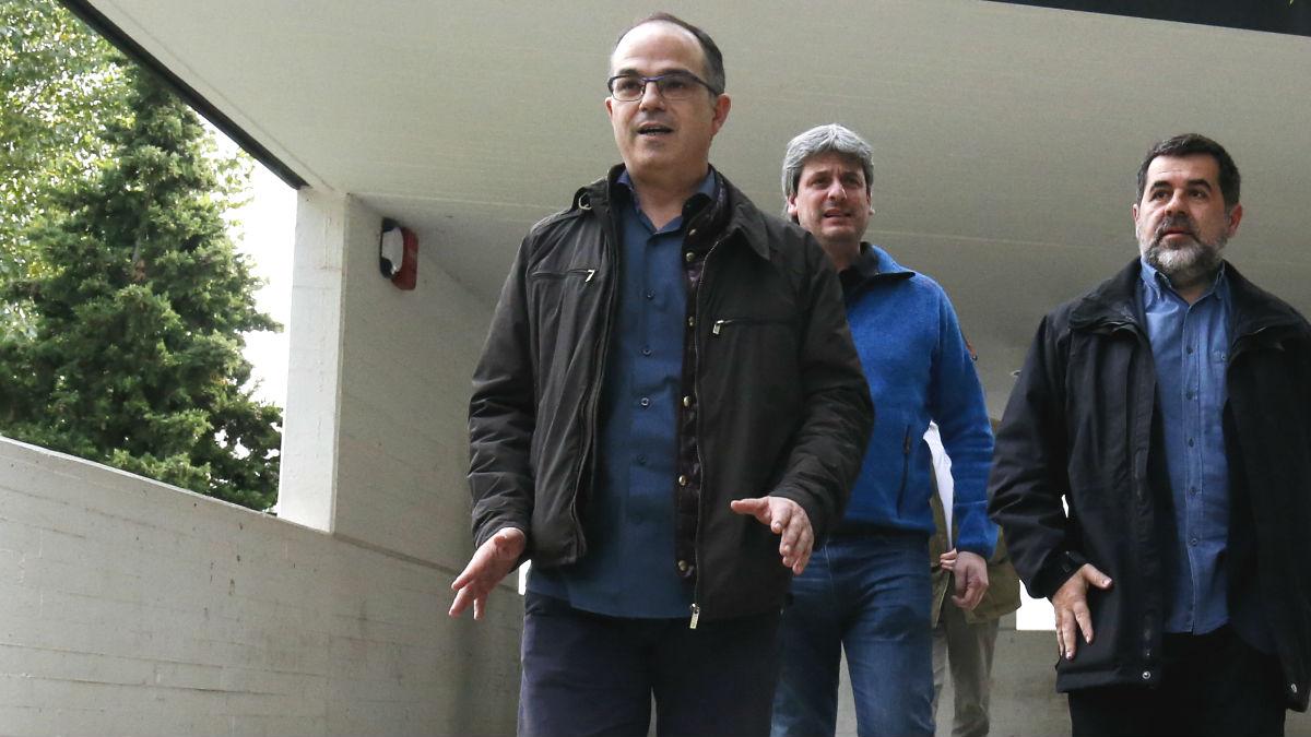 El ex consejero de Presidencia de la Generalitat, Jordi Turull. (Foto: AFP)