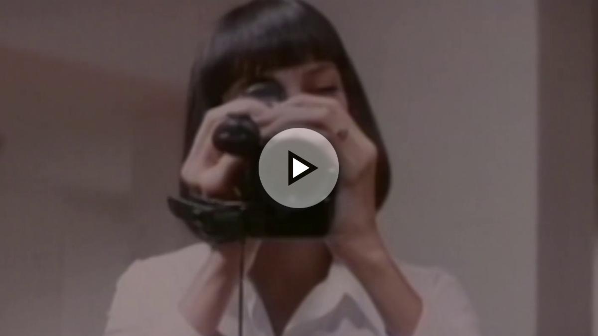 Una Thurman en una de las escenas nunca vistas de Pulp Fiction.