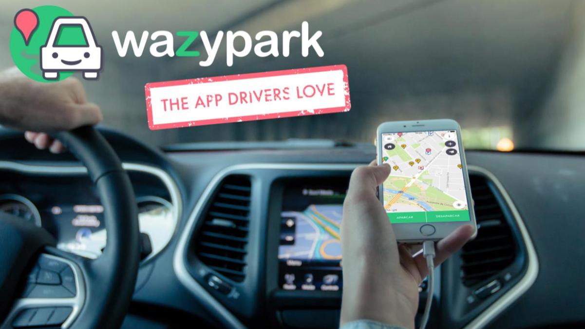 'Wazypark', la app con la que encuentras aparcamiento en minutos (Foto:Wazypark)
