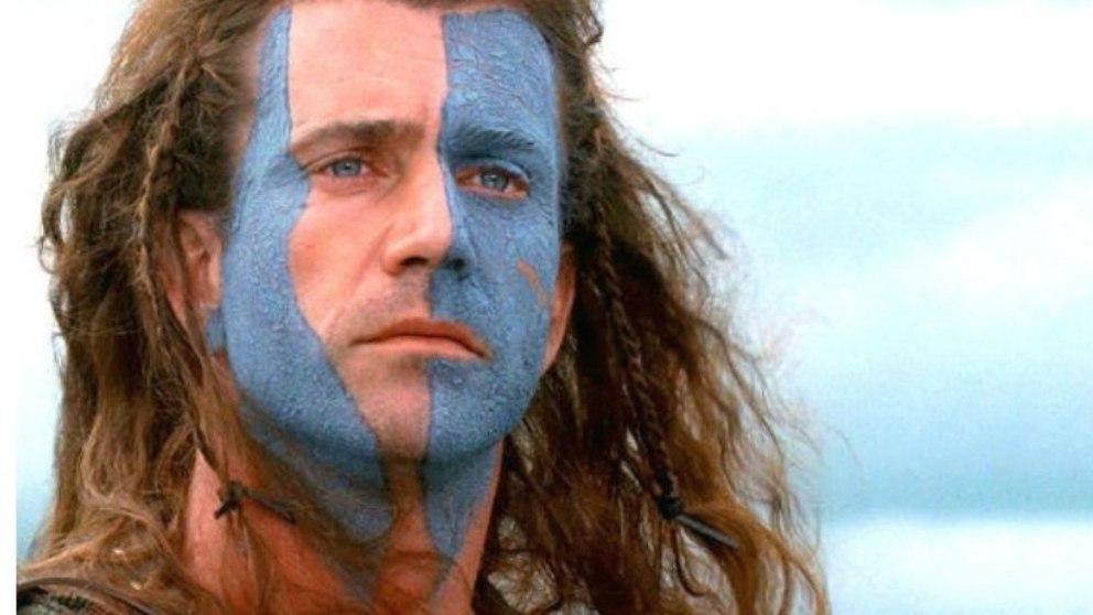 William Wallace nace en 1270 y dirigió a su país contra la ocupación inglesa del rey Eduardo I de Inglaterra.