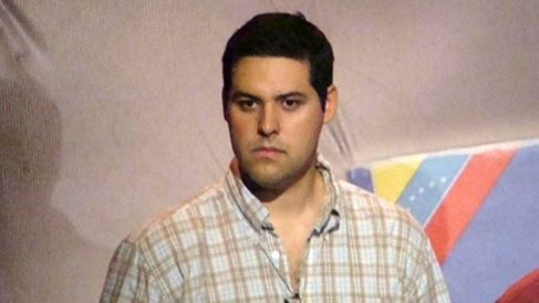 Yon Goicoechea, español preso político de la dictadura de Nicolás Maduro.