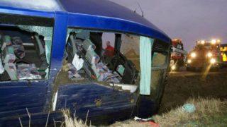 Accidente de autobús en Ecuador.