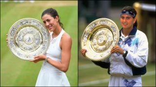 Garbiñe sucede a Conchita como ganadora española en Wimbledon.