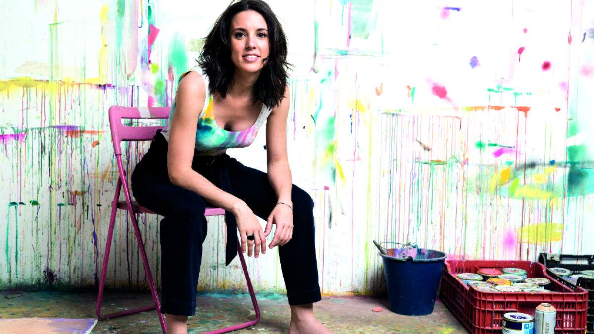 Irene Montero posa así para la revista Fashion&Arts Magazine.