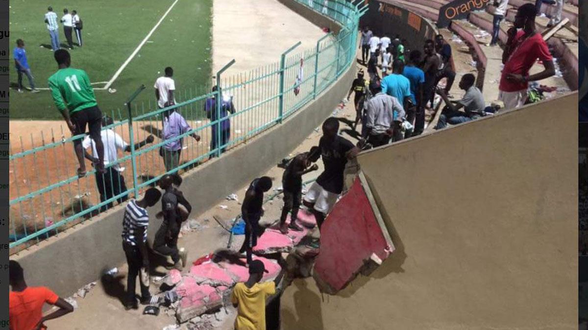 Estadio Demba Diop en Senegal.