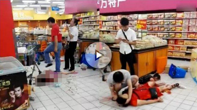 Un hombre mata a cuchilladas a dos personas y deja nueve heridos en un supermercado de China
