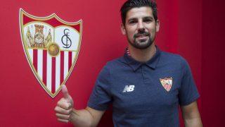 Nolito ya es nuevo jugador del Sevilla. (Sevillafc)