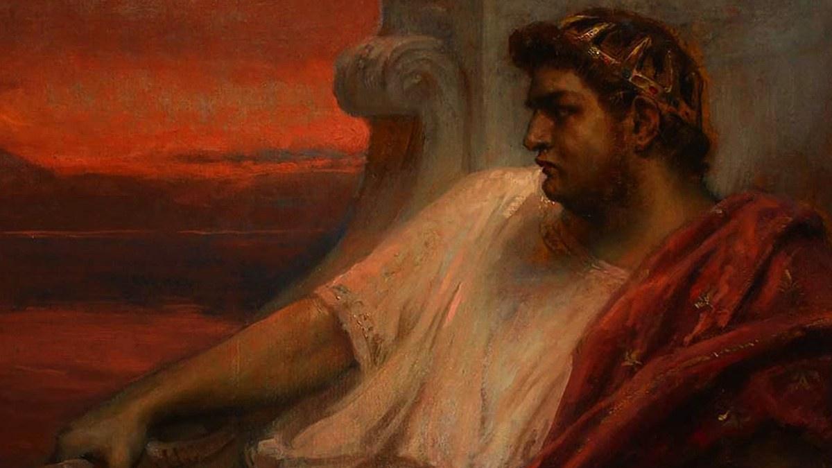 Posiblemente Nerón ordenara el gran incendio de Roma.