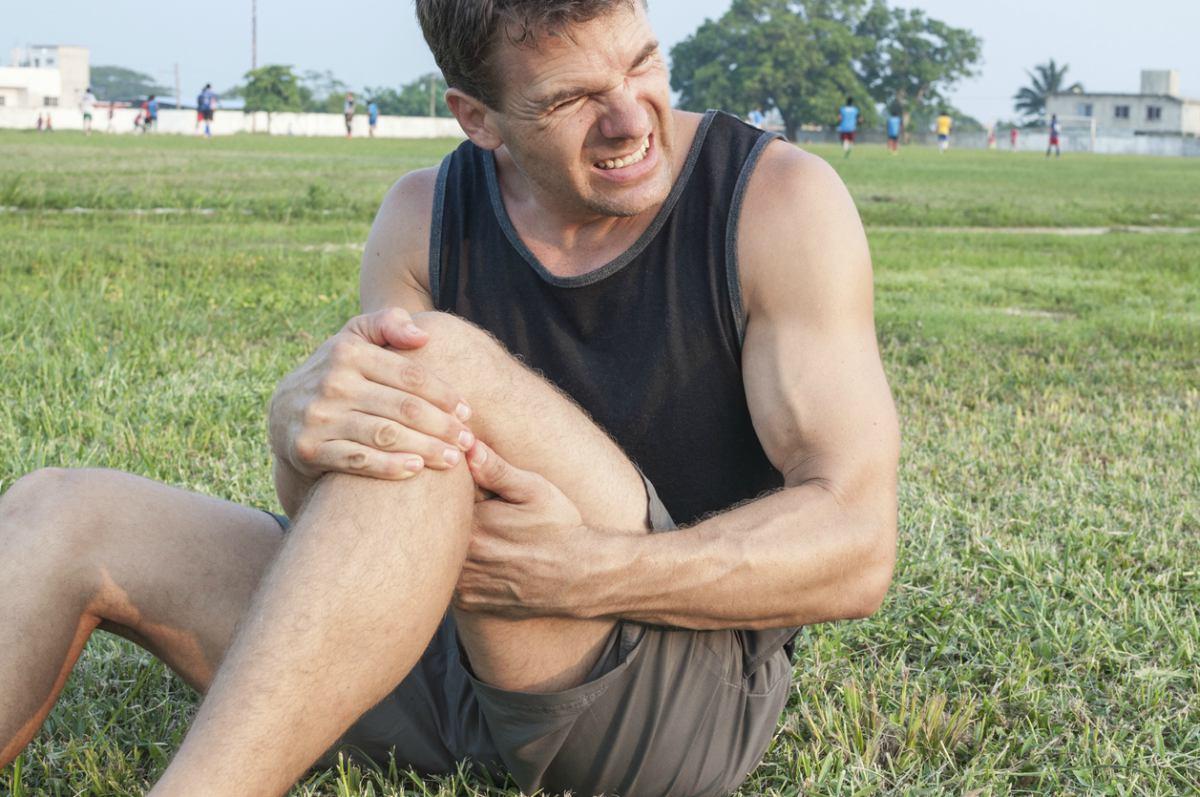 esguince de rodilla