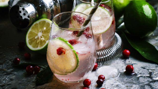 Las bebidas alcohólicas se tiñen de rosa