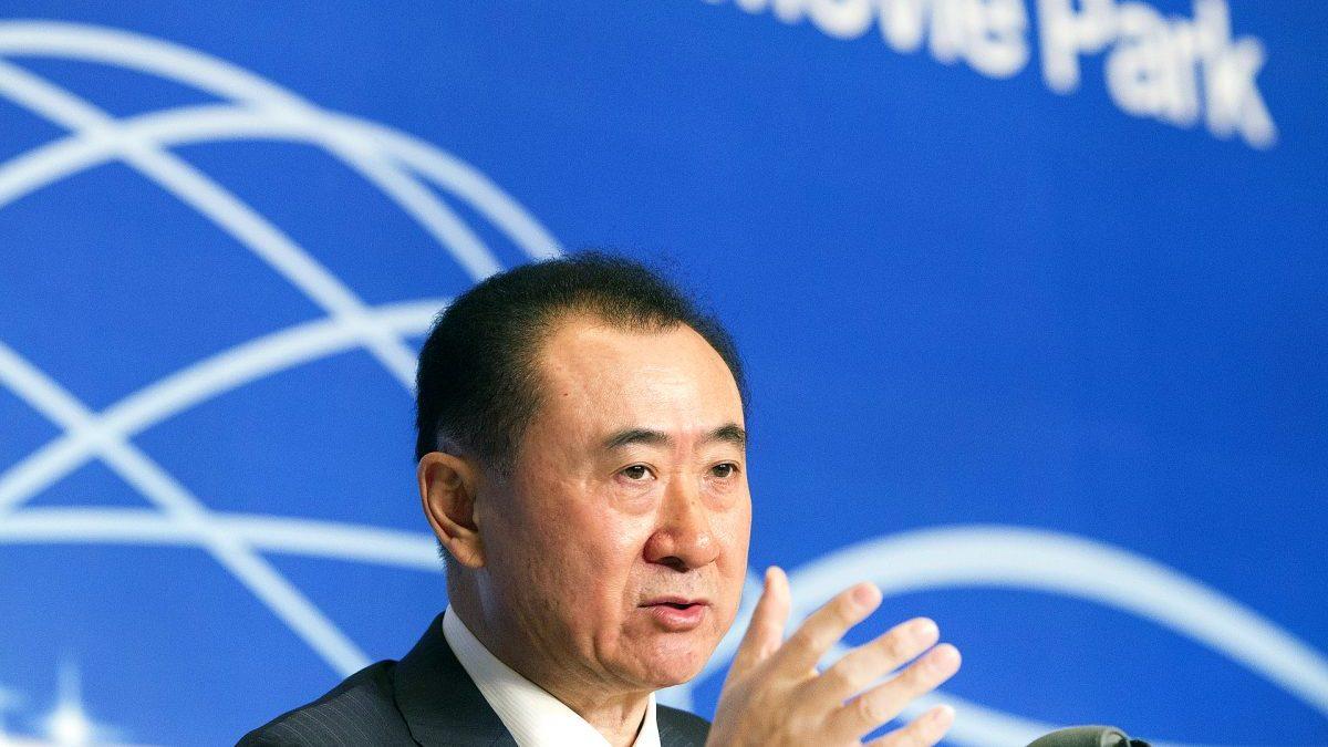 Wang Jianlin, presidente de Wanda. (Foto. Getty)