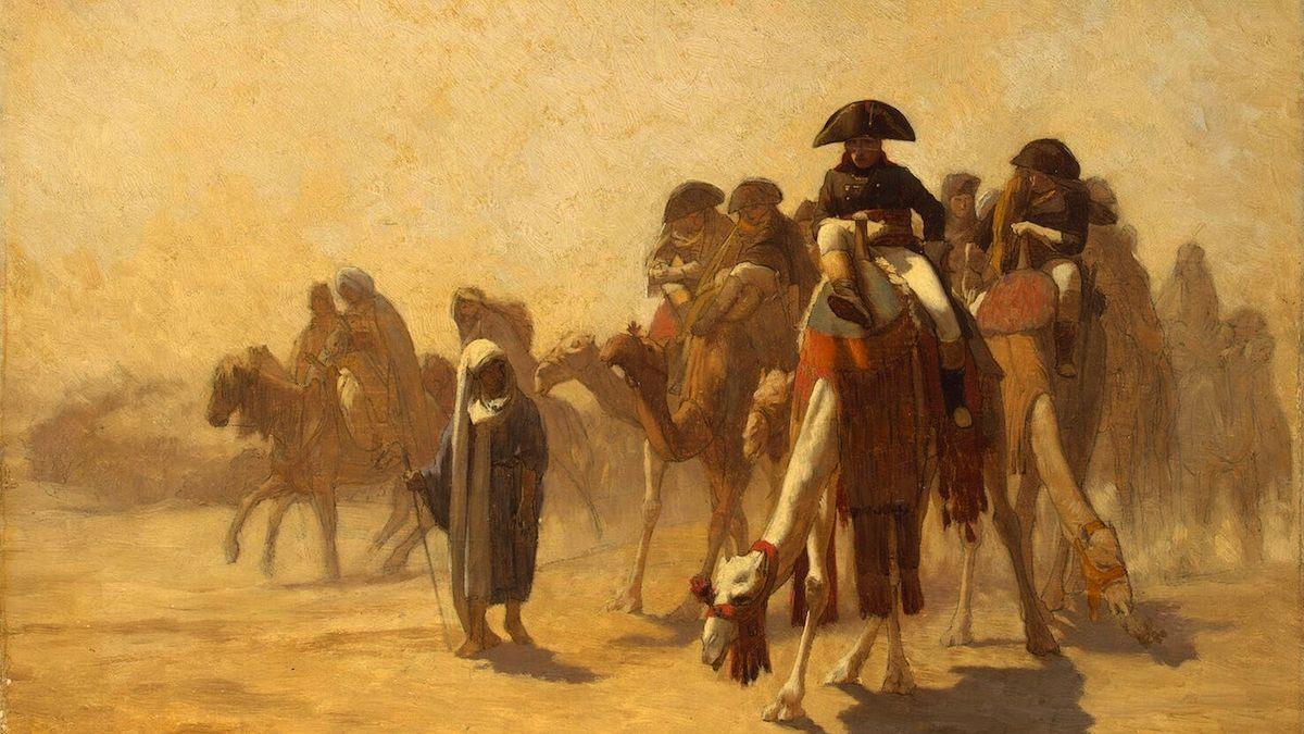 Napoleón conquista El Cairo tras la Batalla de las Pirámides.