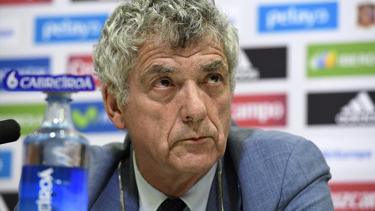 Ángel María Villar. (Foto: AFP)