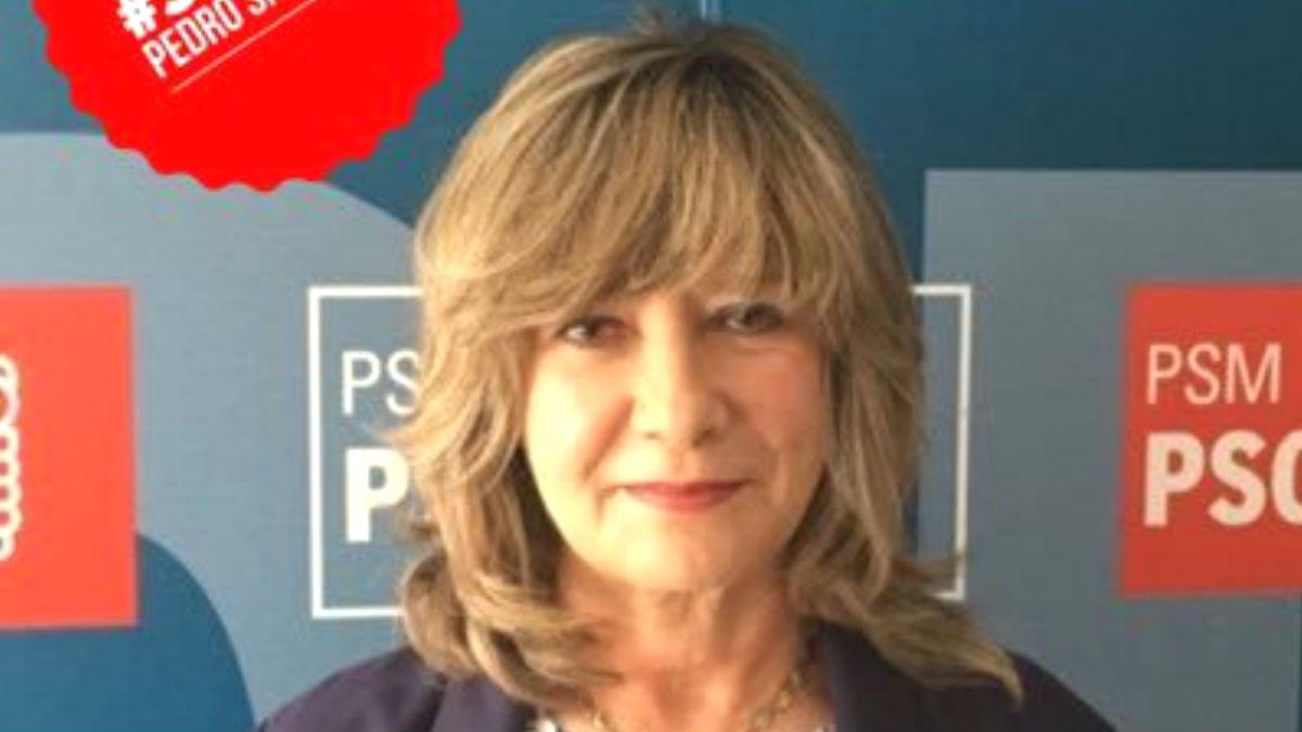 La ex portavoz del PSOE en Boadilla del Montero, Delia López Rodríguez (Foto: Twitter)